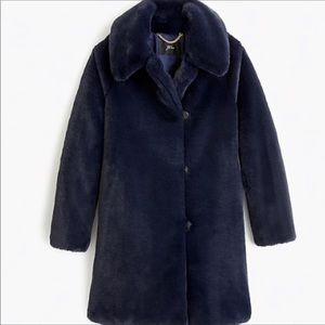 JCREW Faux Fur jacket